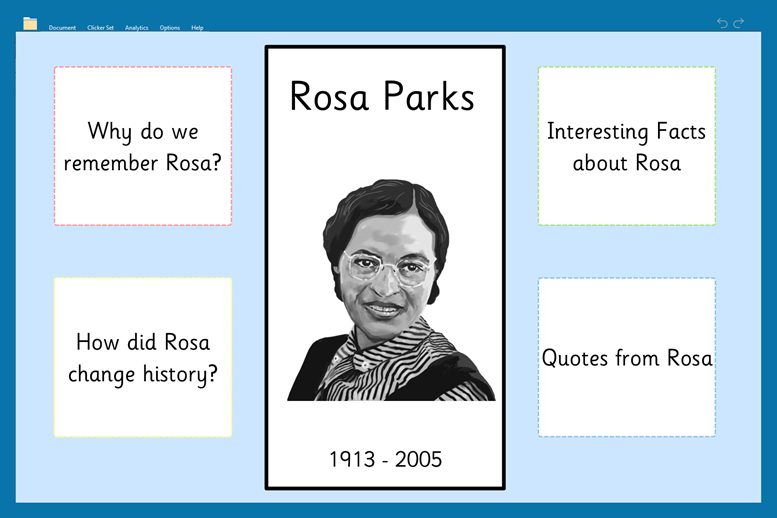 Black History Month (new images)_Rosa Parks fact file