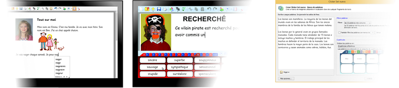 Clicker 6_French_Spanish