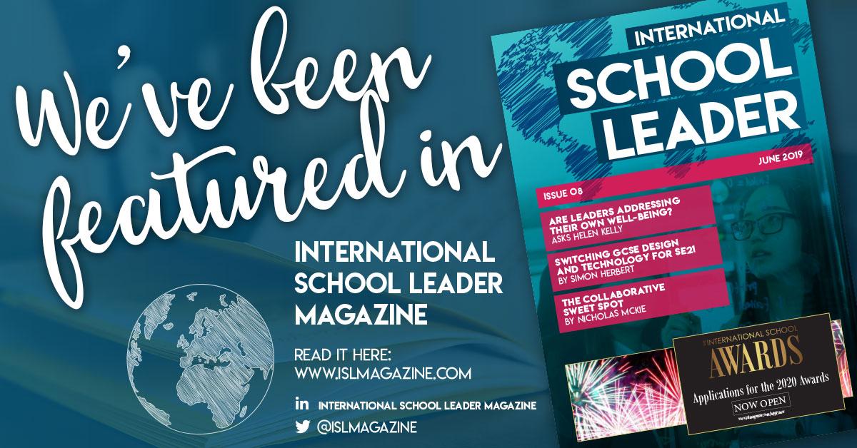 ISL Magazine header