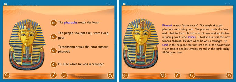 Recovery Curriculum - FOWA Ancient Egypt Book 1 & Book 3