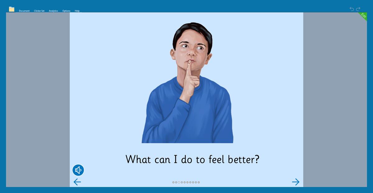 Feelings header