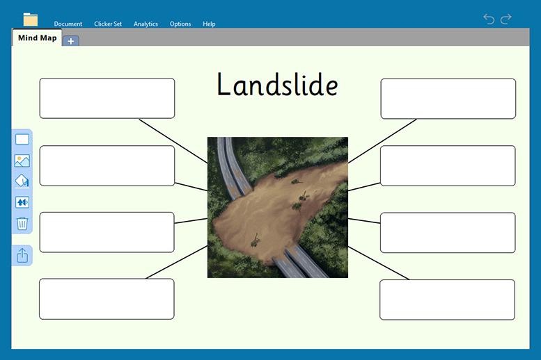 Landslide Clicker Board