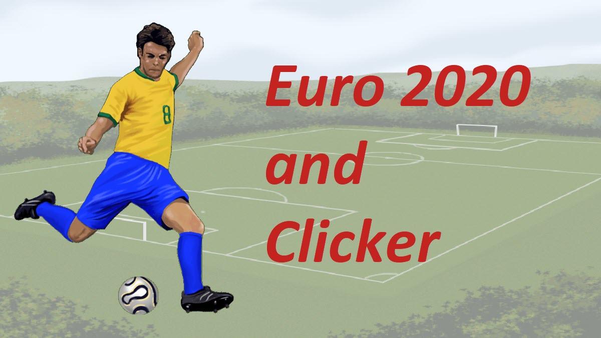 Clicker Euro 2020 - header