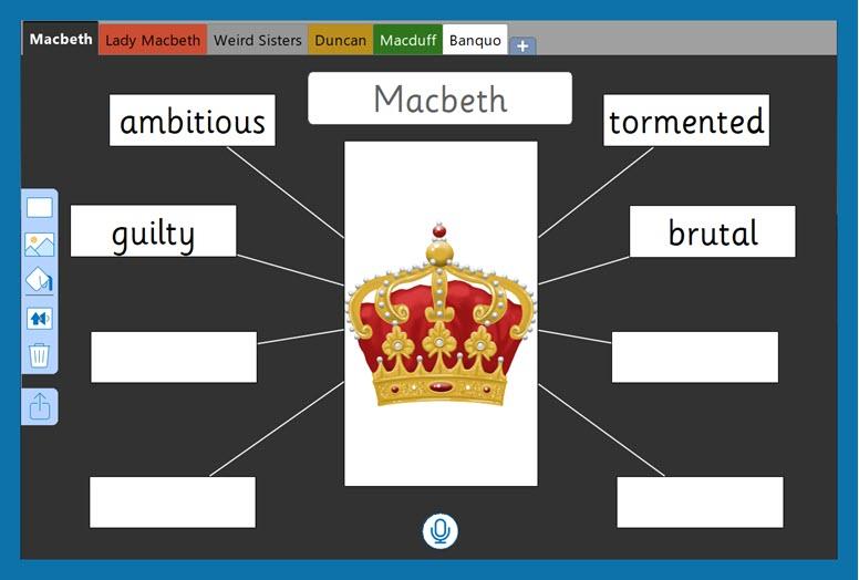 Macbeth 3 - Characters in Macbeth