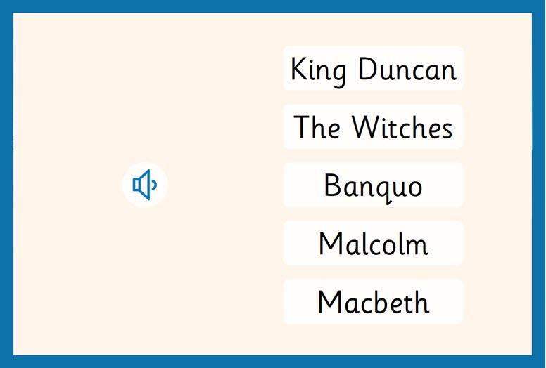 Macbeth 4 - Matching Set