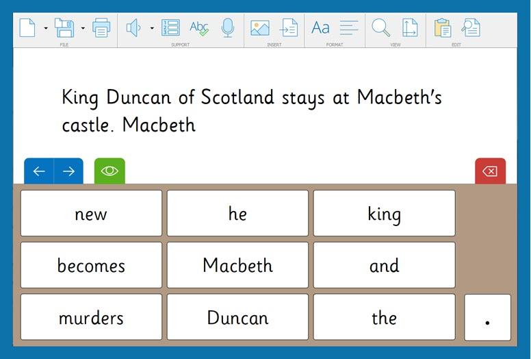 Macbeth 5 - Sentence Set