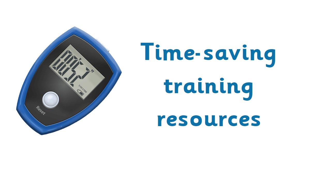 Training resources - header