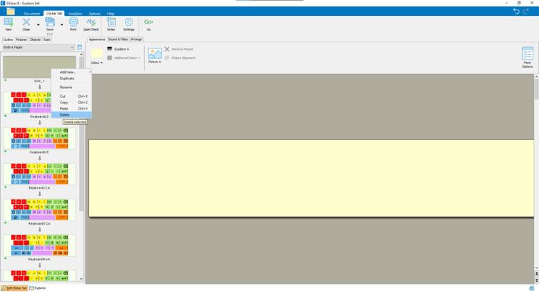 Screenshot 2 - Delete Blank Grid_777