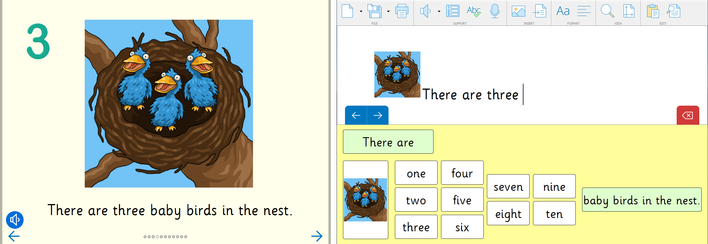 Maths and reading (keeping up with Clicker) 3