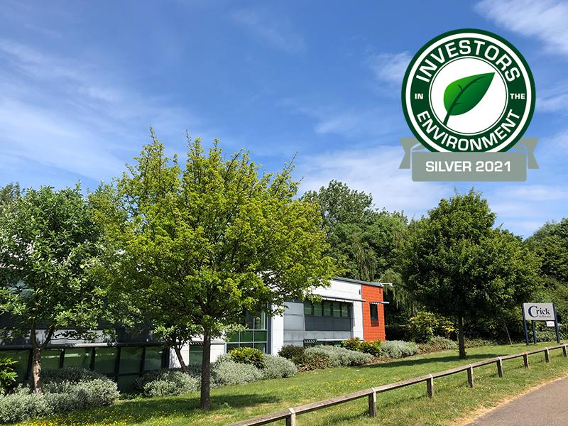 Crick House environmental award