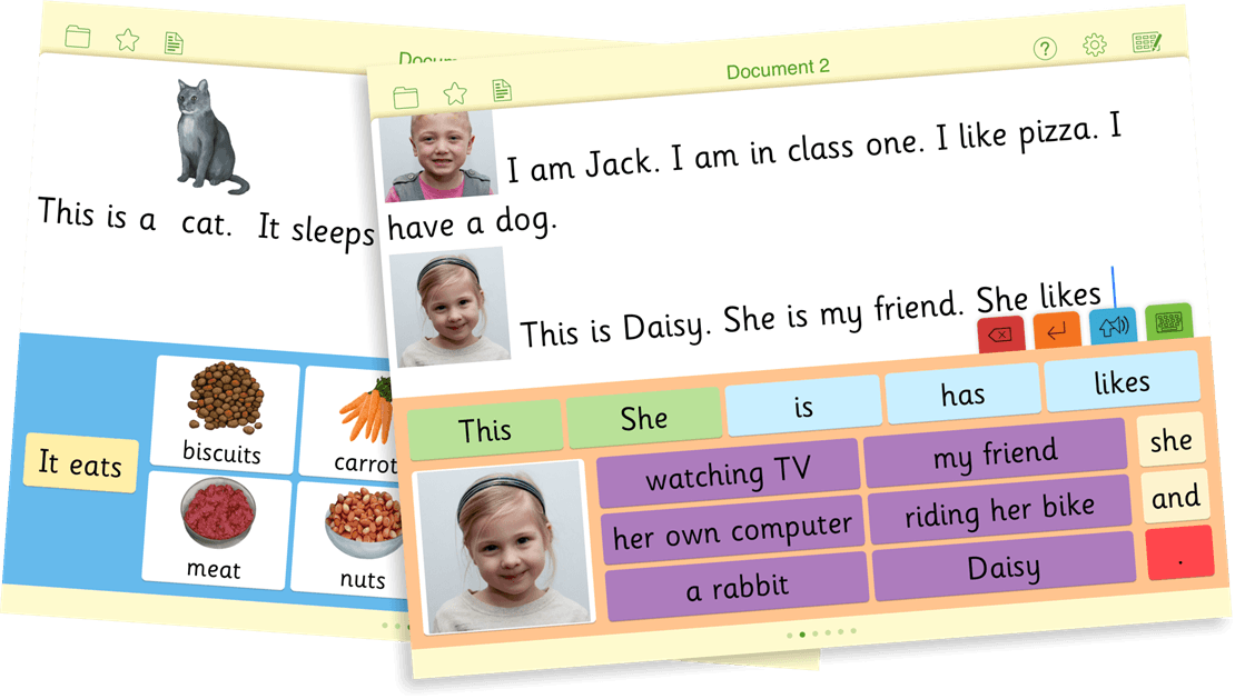 03 Add pictures to writing